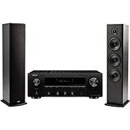 DENON DRA-800H Schwarz + Polk Audio T50 - Set
