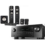 DENON AVR-S960H Schwarz + Polk Audio S55e + S35Ce + S15e + HTS 12 - Set