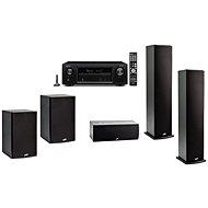 DENON AVR-X1400H + 5.1-Lautsprecher Polk Audio T50 + T30 + T15 - Set