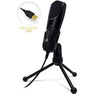 CONNECT IT CMI-8000-BK YouMic USB, schwarz - Handmikrofon