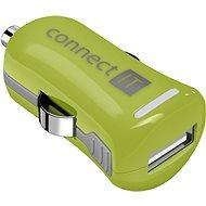 CONNECT IT InCarz Charger ONE 2.1A Grün (V2) - Kfz-Ladegerät