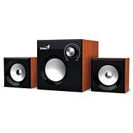 Genius SW-2.1 370 Holzfarbe - Lautsprecher