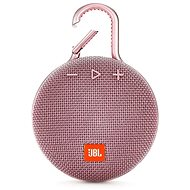 JBL Clip 3 rosa - Bluetooth-Lautsprecher
