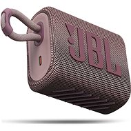 JBL GO 3 rosa - Bluetooth-Lautsprecher