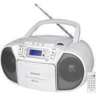 Sencor SPT 3907 W - Radio mit Kassettenrecorder