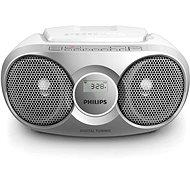 Philips AZ215S CD-Soundmachine - Radio mit Kassettenrecorder