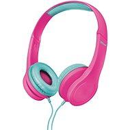 Trust Bino Kopfhörer für Kinder pink - Kopfhörer