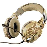 Trust GXT 322D Carus Gaming Headset - Desert Camo - Gaming Kopfhörer