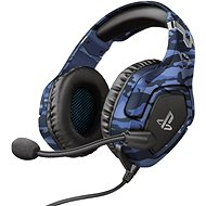 Trust GXT 488 FORZE-B PS3 HEADSET BLAU (PS4 Licensed) - Gaming Kopfhörer