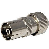 OEM Antennenanschluss 75 Ohm PAL (F), IEC169-2, Schraube, Metall - Konnektor