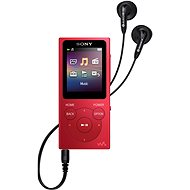 Sony NW-E394L - rot - MP4 Player