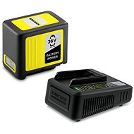 Kärcher Starter Kit Batterieleistung 36 V / 5,0 Ah - Ladegerät mit Ersatzbatterie