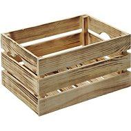 Kesper Holzkiste geflammt - Aufbewahrungsbox