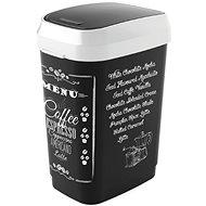Abfalleimer KIS Dual Swing Bin Style M, Kaffeemenü, 25 l - Abfalleimer