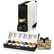 Nespresso Krups XN510110 Essenza Plus White - Kapsel-Kaffeemaschine