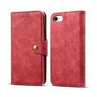 Lenuo Leather für iPhone 8/7, rot - Handyhülle