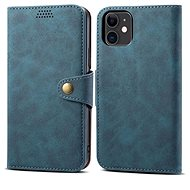 Lenuo Leather für iPhone 11, blau - Handyhülle