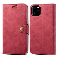 Lenuo Leather für iPhone 11 Pro, Rot - Handyhülle