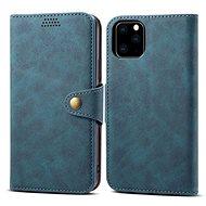 Lenuo Leather für iPhone 11 Pro, Blau - Handyhülle