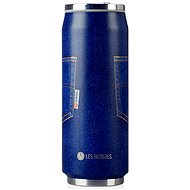 LES ARTISTES Blue Jean A-1885 Thermobecher 500 ml - Thermostasse