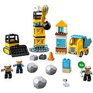 LEGO DUPLO Town 10932 Baustelle mit Abrissbirne - LEGO-Bausatz