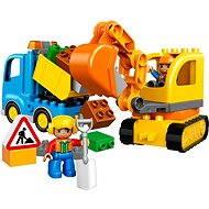 LEGO DUPLO 10812 Bagger & Lastwagen - Baukasten
