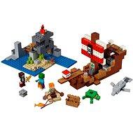 LEGO Minecraft 21152 Das Piratenschiff-Abenteuer - LEGO-Bausatz