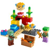LEGO Minecraft 21164 Das Korallenriff - LEGO-Bausatz