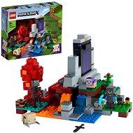 LEGO® Minecraft™ 21172 Das zerstörte Portal - LEGO-Bausatz