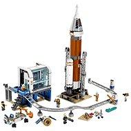 LEGO City Space Port 60228 Weltraumrakete mit Kontrollzentrum - LEGO-Bausatz
