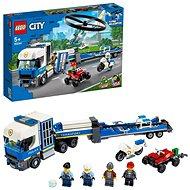 LEGO City Polizei 60244 Polizeihubschrauber-Transport - LEGO-Bausatz