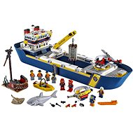 LEGO City 60266 Meeresforschungsschiff - LEGO-Bausatz