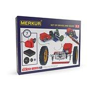Merkur Metallbaukasten Elektromotor und Getriebe - Bausatz