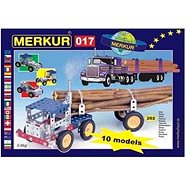 Merkur Metallbaukasten - LKW - Bausatz