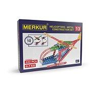 Merkur Metallbaukasten - Hubschrauber/Flugzeug - Bausatz