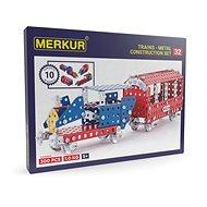 Merkur Metallbaukasten Eisenbahn-Modelle - Bausatz