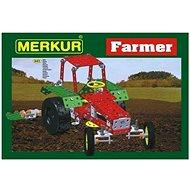 Merkur Metallbaukasten Bauernhof, Farm-Set - Bausatz