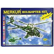 Merkur Metallbaukasten Hubschrauber-Set - Bausatz