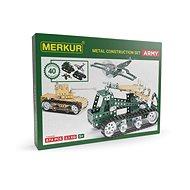 Merkur Metallbaukasten Panzer-Set Army Set - Bausatz