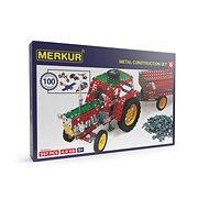 Universal-Metallbaukasten Merkur 6 - Dreistufig, 940 Teile - Bausatz