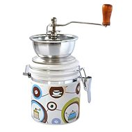 Toro Kaffeemühle, Porzellan, Edelstahl, Coffe Motiv - Kaffeemühle