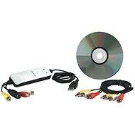 Manhattan USB Audio/Video Grabber - Externes Aufzeichnungsgerät