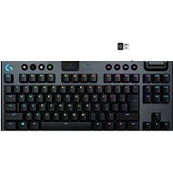 Logitech G915 LIGHTSPEED Tenkeyless Wireless RGB GL Tactile US INTL, Carbon - Gaming-Tastatur