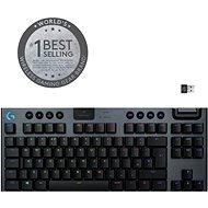 Logitech G915 LIGHTSPEED Tenkeyless Wireless RGB GL Linear US INTL, Carbon - Gaming-Tastatur