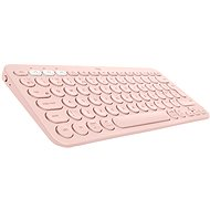 Logitech Bluetooth Multi Device Keyboard K380 - rosa - UK - Tastatur