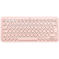 Logitech Bluetooth Multi-Device Keyboard K380 für Mac, pink - US INTL - Tastatur
