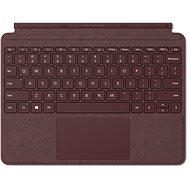 Microsoft Surface Go Type Cover Burgundy - Tastatur