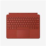 Microsoft Surface Go Type Cover - Poppy Red ENG - Tastatur