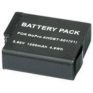 MadMan für GoPro HERO5 und HERO6 - Camcorder Batterien