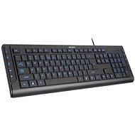 A4tech KD-600L Schwarz - Tastatur